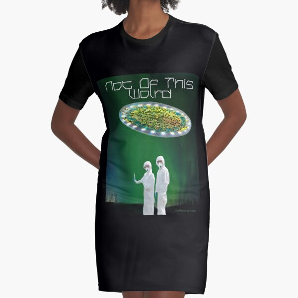 Not of This World Graphic T-Shirt Dress