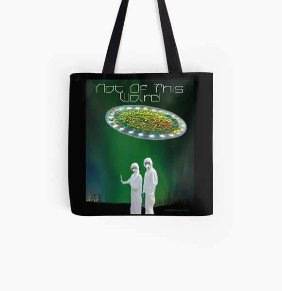 Not of This World All Over Print Tote Bag