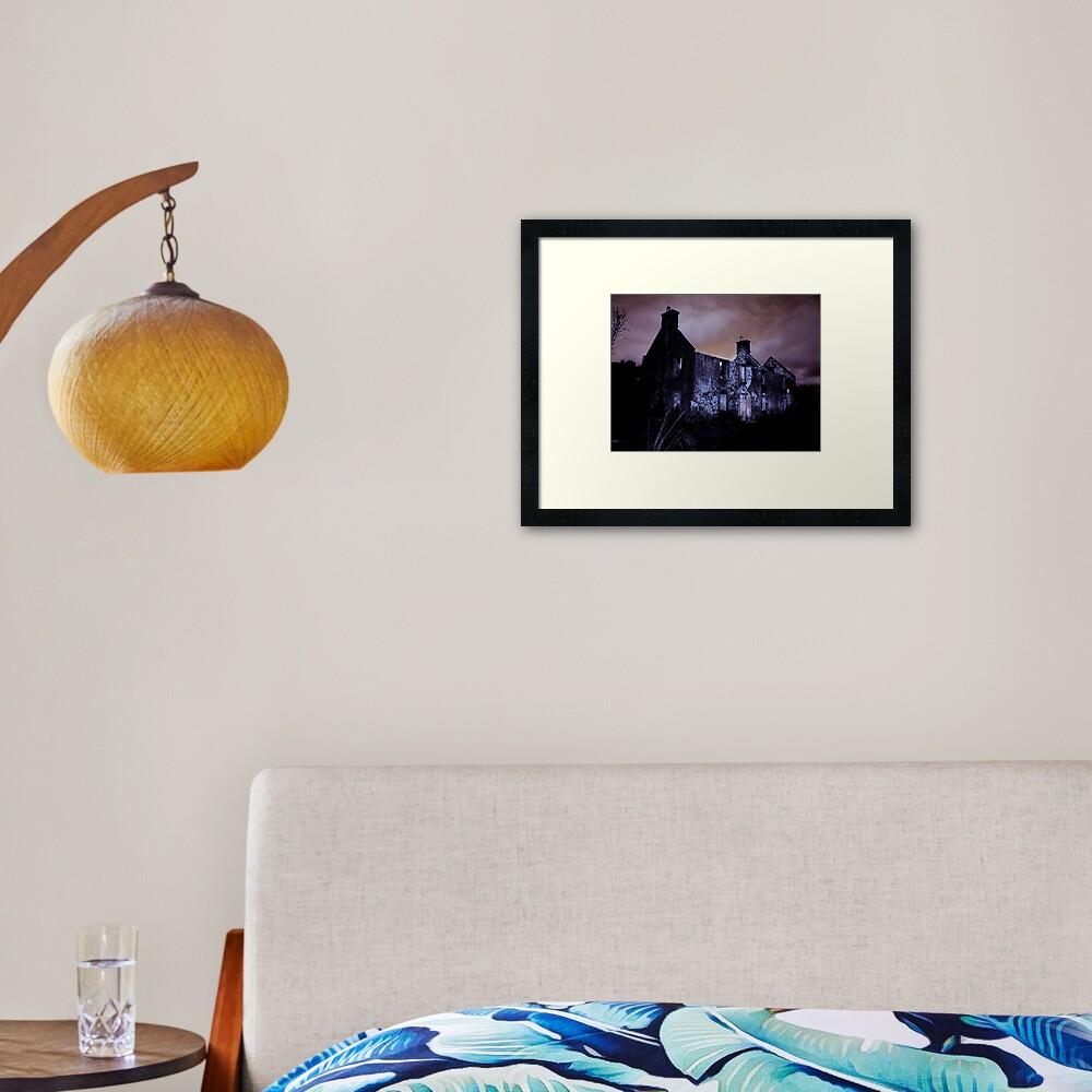 The Cottage Framed Art Print