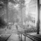 Fog In Montmartre by John Rivera