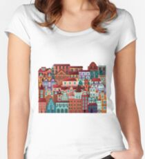 Homes Women's Fitted Scoop T-Shirt