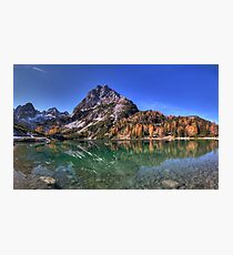 Mountainous Reflection Photographic Print