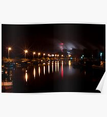Canal Lights Poster