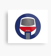 Monorail Logo Metal Print