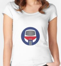 Monorail Logo Women's Fitted Scoop T-Shirt