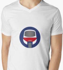 Monorail Logo Men's V-Neck T-Shirt