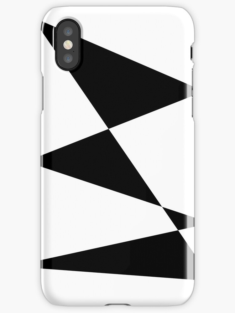 b&w triangles by Kafas Kackas