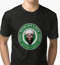 Osama Bin Lager Tri-blend T-Shirt