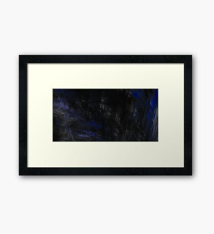 At Night Framed Print