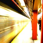 New York City Subway by Benedikt Amrhein