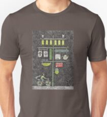 Riding home for Christmas Unisex T-Shirt