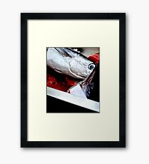 Kill fish! Framed Print