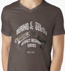 Bering and Wells  Men's V-Neck T-Shirt