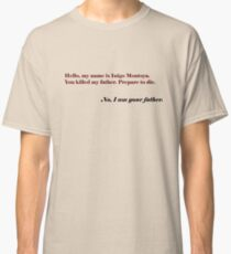 Inigo Vader Classic T-Shirt