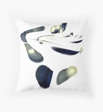 Traces! Throw Pillow