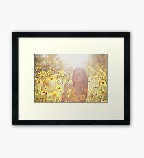 Sunlit Beauty II Framed Print