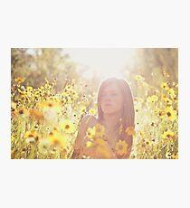 Sunlit Beauty II Photographic Print
