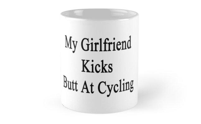 My Girlfriend Kicks Butt At Cycling by supernova23