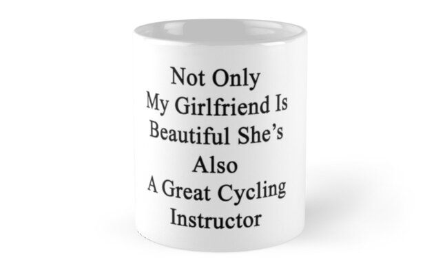 Not Only My Girlfriend Is Beautiful She's Also A Great Cycling Instructor by supernova23
