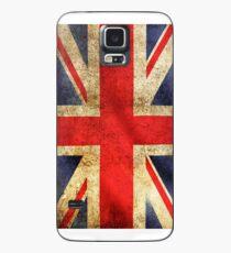 UK Flag - Battleworn Case/Skin for Samsung Galaxy