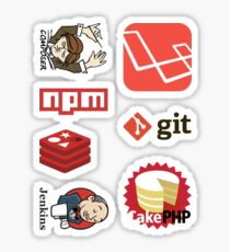 PHP Web Dev Tooling Sticker