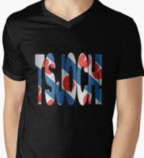 Fryslan Tsjoch Men's V-Neck T-Shirt