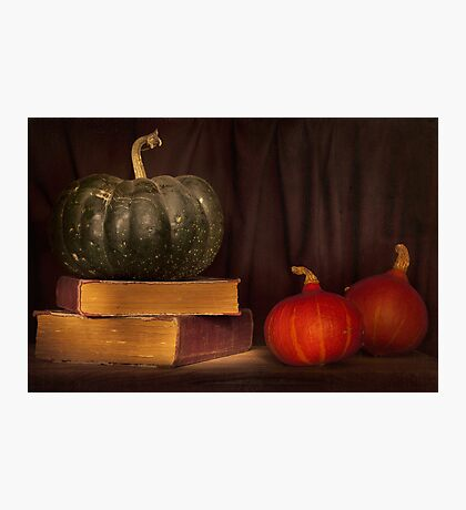 Autumn prose Photographic Print