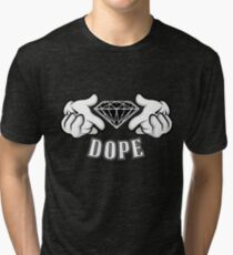 Diamond Hands DOPE Tri-blend T-Shirt