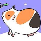 Guinea-pig Under the Mistletoe  by Zoe Lathey