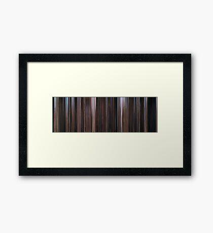 Moviebarcode: Cool Hand Luke (1967) Framed Print