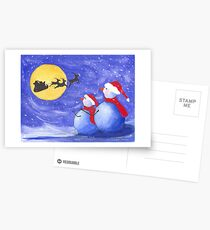 Santa's Helpers Postcards