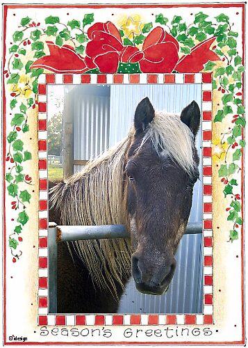 Horsey Christmas by Adah