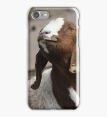 Happy Goat  iPhone Case/Skin