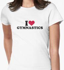 I love Gymnastics Women's Fitted T-Shirt