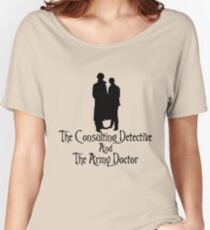 The Consulting Detective and His Army Doctor Women's Relaxed Fit T-Shirt