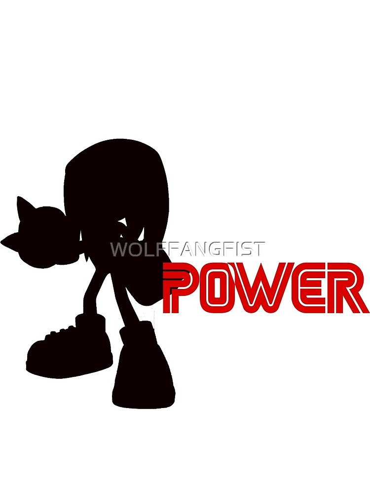 Power Type: Knuckles by WOLFFANGFIST