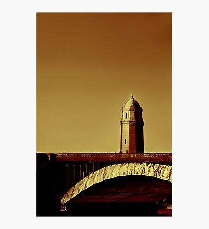 A Bridge of Two Cities Photographic Print