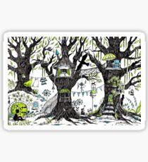 Tree house stories Sticker