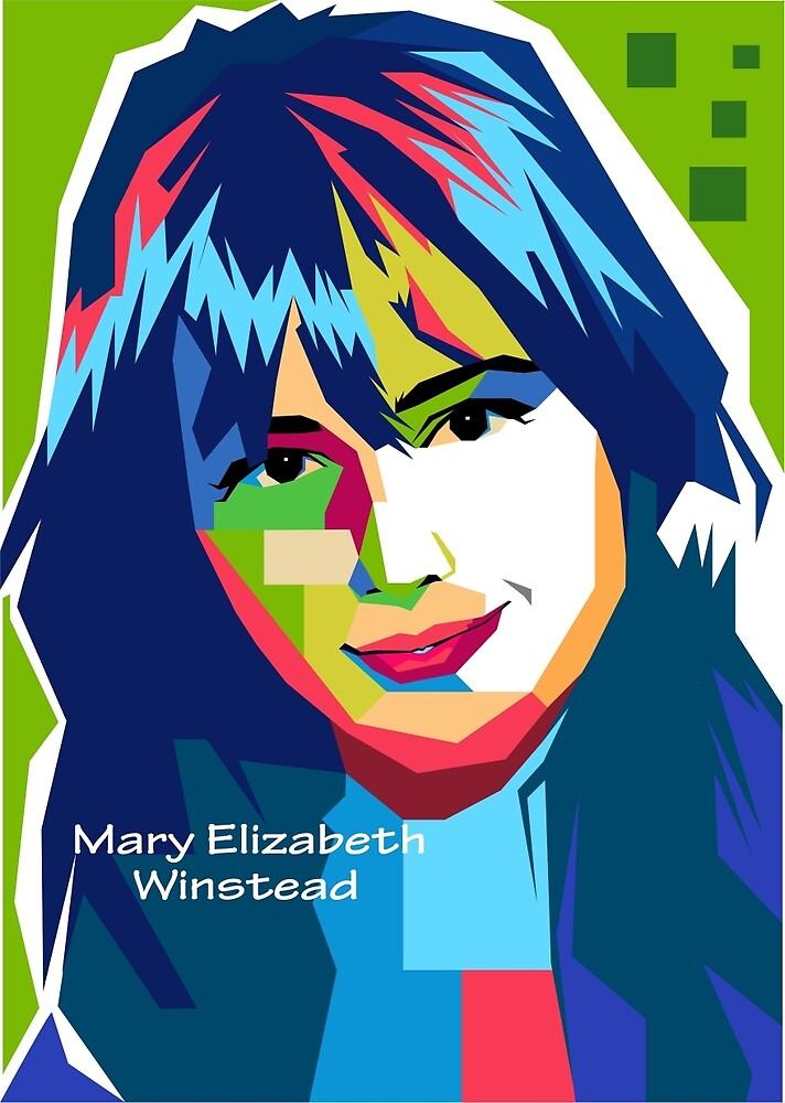 Wpap's Mary Elizabeth Winstead by IdhamRosidi