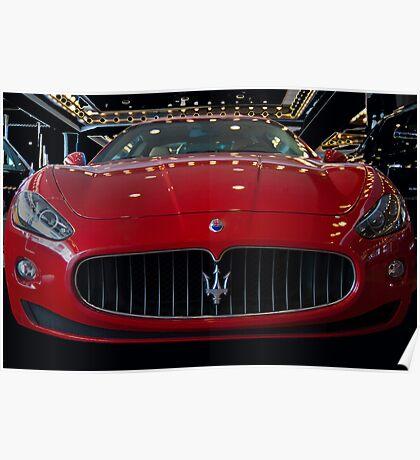 Maserati  Poster