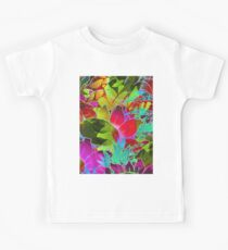 Floral Abstract Artwork G125 Kids Clothes