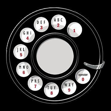 Rotary Ich | Altes Telefon von BootsBoots