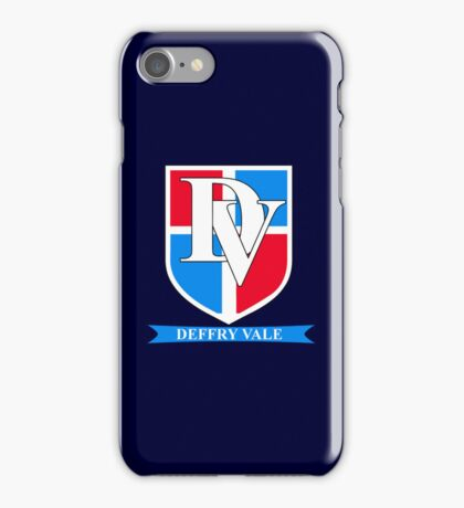 Deffry Vale School (Doctor Who) iPhone Case/Skin