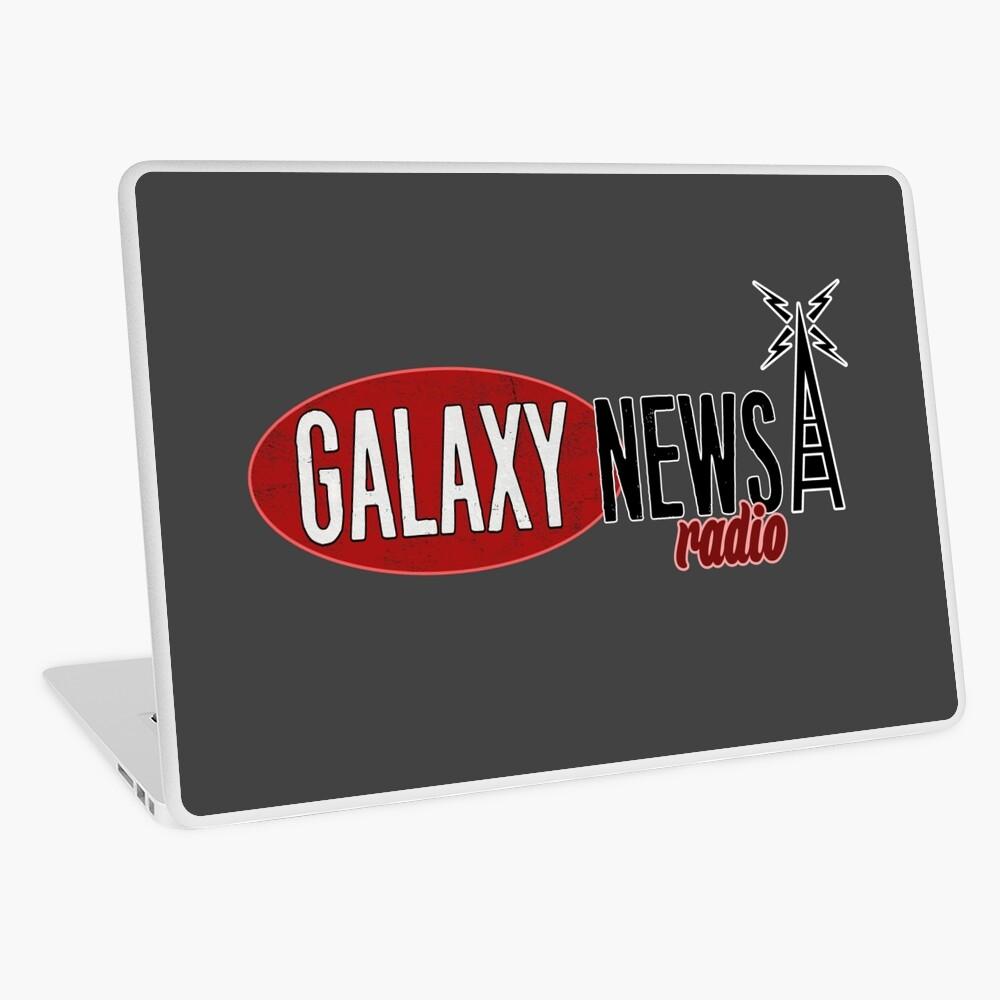 Galaxy Nachrichten Radio Logo Laptop Folie