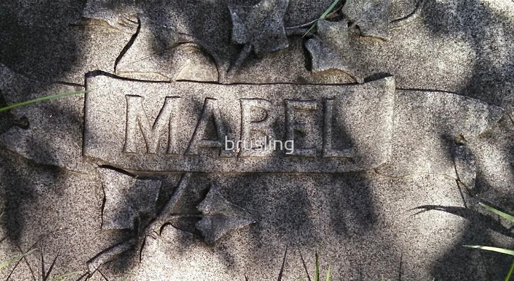 Mabel by brusling