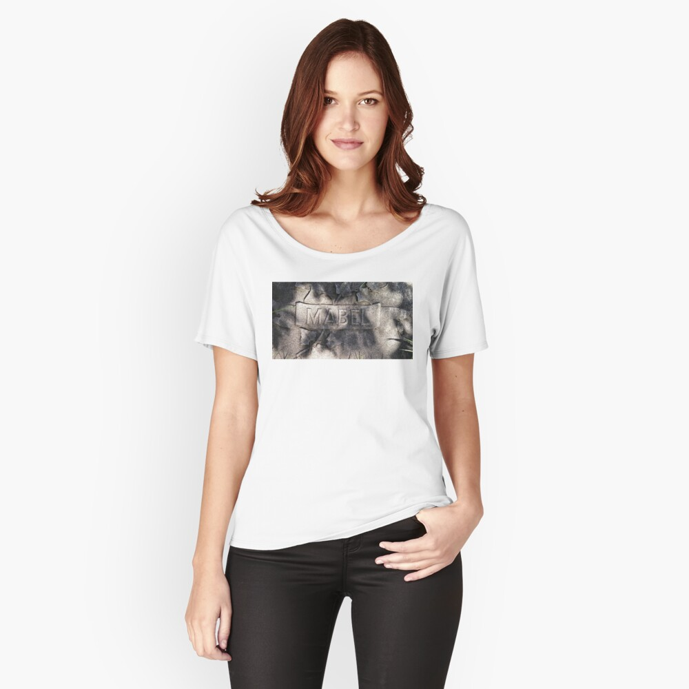 Mabel Women's Relaxed Fit T-Shirt Front