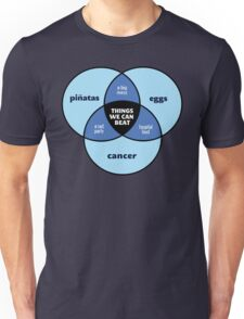We Can Beat It | Funny Motivational Cancer Diagram T-Shirt