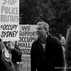 Occupy Sydney Protest Pt 7 Confrontation by Andrew Kalpage