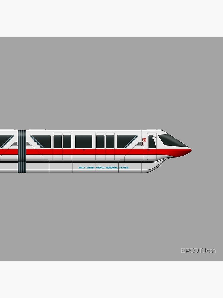 Monorail Red by EPCOTJosh