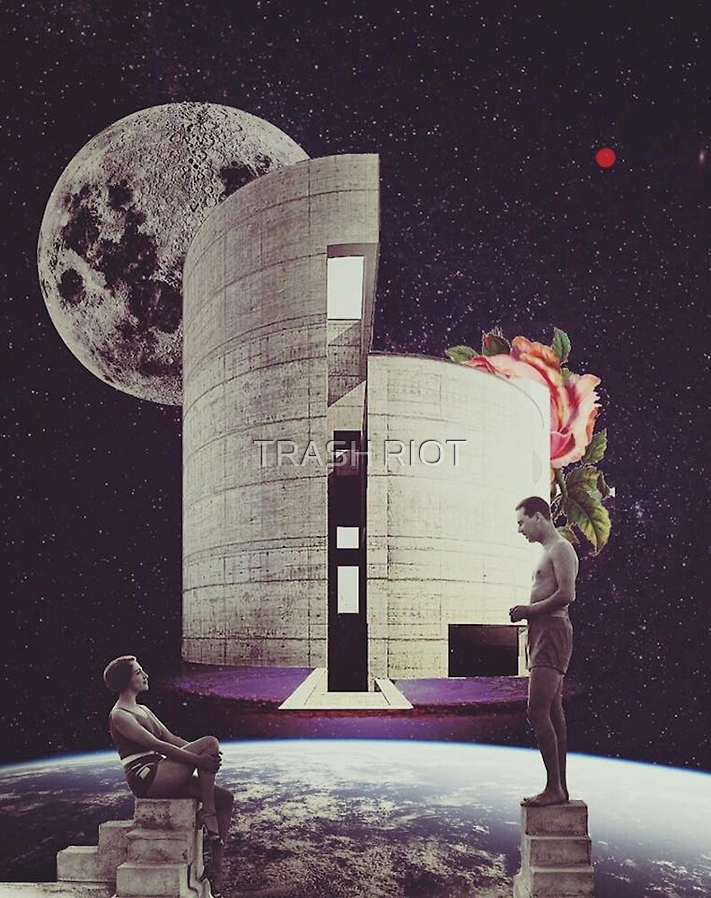 Home is were the heart is (space) by TRASH RIOT